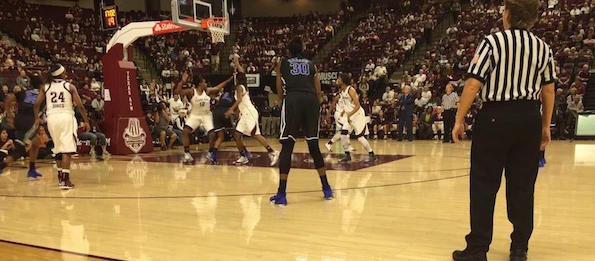 Texas A&M hosted Duke in a marquee matchup of Top Ten programs. We bring our take directly from the floor.  *Brandon Clay / @BrandonClayPSB