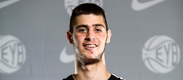 Class of 2015 post Gergios Papgiannis of Greece was touted as the top European prospect in his class. Read about his game here. Photo cred - Jon Lopez/Nike