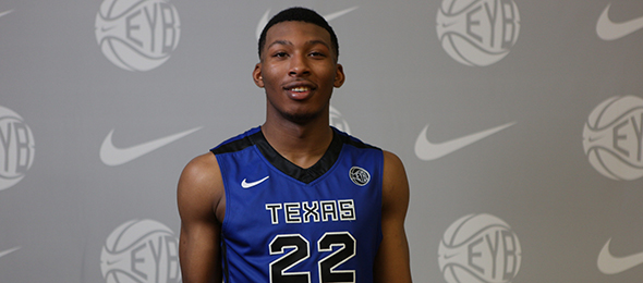 Class of 2015 guard King McClure is a skilled guard that  should impact for the Bears next year. Photo cred - Jon Lopez/Nike