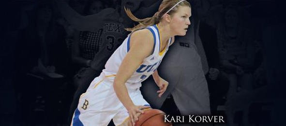 The Bruins look to Kari Korver for leadership as they host national power Notre Dame.  *Photo by UCLA Athletics
