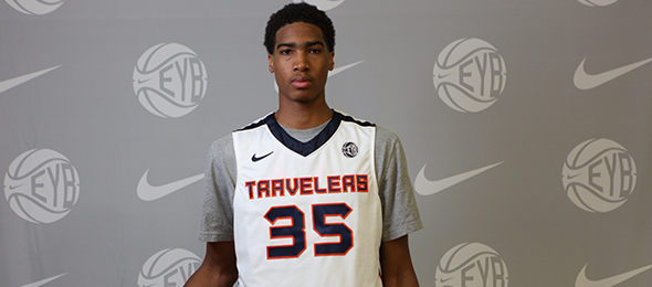 Class of 2015 forward Raymond Spalding of  Louisville, Ky., will stay home to play for the Cardinals next year. Read about him here. Photo cred - Jon Lopez/Nike