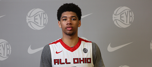 Class of 2015 wing forward Esa Ahmad of All Ohio is headed to West Virginia. Read about his game and watch his highlights here. Photo cred - Jon Lopez/Nike