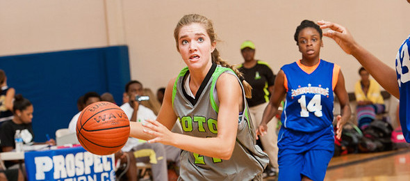 Hanna Grogan of Gainesville, Ga., has proven herself at multiple PeachStateBasketball.com events over the past year.  Ty Freeman / @TyPhotoG