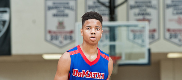 Class of 2016 guard Markelle Fultz of Md., came ready to earn a spot in the BrandonClayScouting.com Rankings.  Ty Freeman / @TyPhotoG