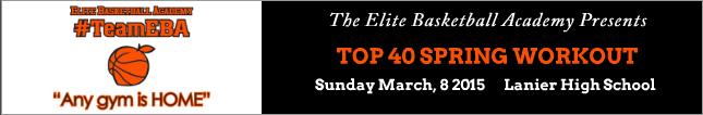 eba top 40 workout