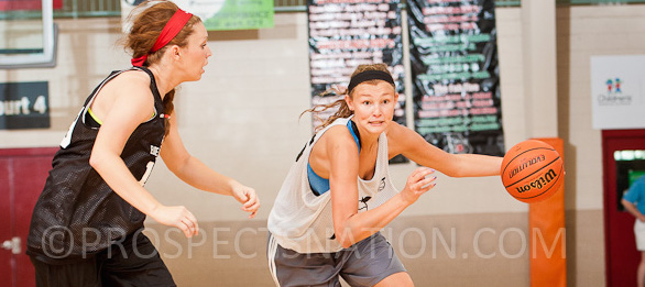 Class of 2016 forward Haliegh Reinoehl of Westfield, Ind., has established herself as a must recruit prospect.  *Ty Freeman / @TyPhotoG