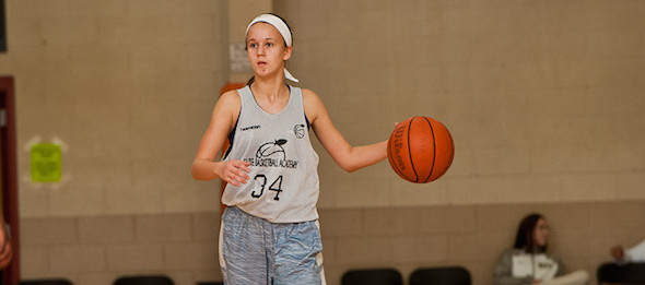 Kaley Shipman of Mountain View, Ark., is a class of 2019 point guard to keep on the radar. Ty Freeman / @TyPhotoG