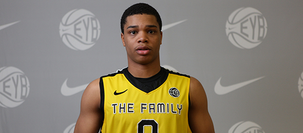Class of 2016 wing Miles Bridges of Flint, Mich., has separated himself as an elite finisher at the rim. Read all about his game here. Photo cred - Jon Lopez