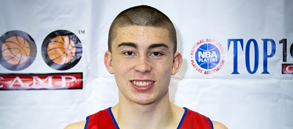 Class of 2016 point guard Payton Pritchard is a dynamic ball handling option at the 1. Photo cred - Davide de Pas