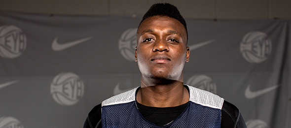 Watch for class of 2016 center Schneider Herard of McKinney, Texas, to be one of the more recruited players in his class. Read our evaluations here. Photo cred Jon Lopez/Nike