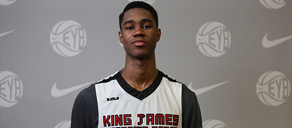 We have seen class of 2016 wing V.J. King of Akron, Ohio, three times in the past two months. Read about his performances here. Photo cred - Jon Lopez/Nike