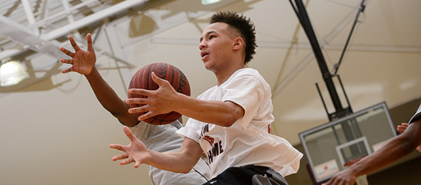 Class of 2016 guard Anthony Showell is a steady performer at Elite Basketball Academy events. Read about his skill set here. Photo cred - Ty Freeman/PSB