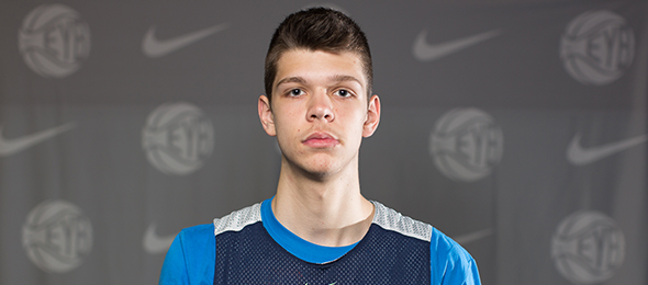 Class of 2016 forward Nick Rakocevic of Westchester, Ill., could turn out to be one of the most skilled big in the class. Read more about his game here. Photo cred - Jon Lopez/Nike