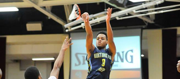 Class of 2016 point guard was one of the biggest stock risers nationally in the past year. Read why he is in our ELITE 100. Photo cred - Bob Blanchard/RJBsports
