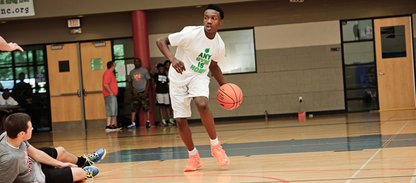 Jared Harper crossed up the competition and landed in the ELITE 100 in the class 2016. Read how the point guard from Atlanta, Ga., did it. Photo cred -- Ty Freeman/PSB