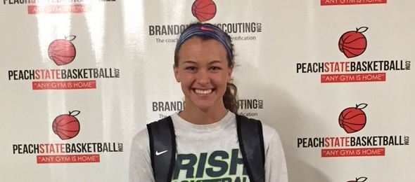 Class of 2016 guard Rachel Titzer of Ind., is a versatile option on the wing. Brandon Clay / PeachStateBasketball.com