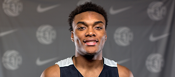 Class 2016 wing Carlos Johnson of Phoenix, Ariz., is a dynamic athlete. Read more about his game here. Photo cred - Jon Lopez/Nike