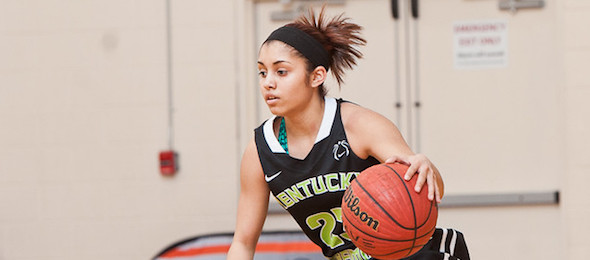 Class of 2017 point guard Haeli Howard of Lebanon, Ky., has established herself as a must watch prospect. Ty Freeman / @TyPhotoG
