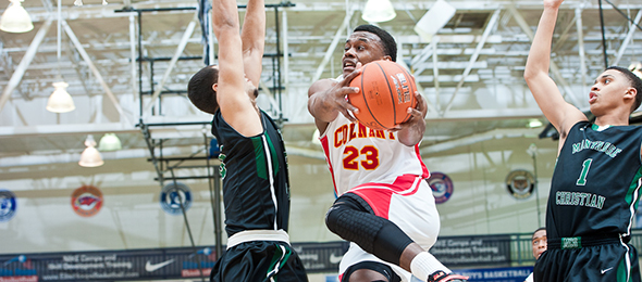 Class of 2016 forward Martins Igbanu of Marietta, Ga., is a proven athlete. Read about his skill set here. Photo cred - Ty Freeman