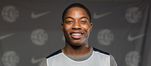 Class of 2016 forward Tyrique Jones of Boston, Mass., is one of the nation's best at rebounding the ball. Read more about his game here. Photo cred - Jon Lopez/Nike
