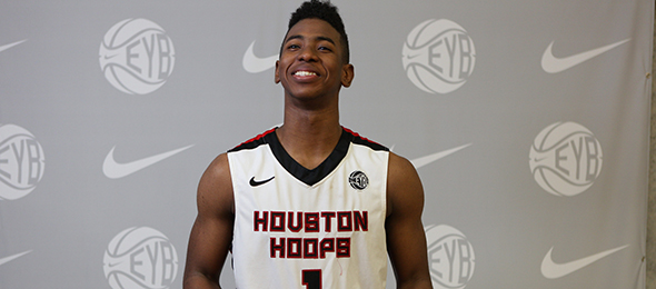Class of 2016 guard Christian James of Houston, Texas, is on his way to Oklahoma. Read what he will bring for Sooner fans. Photo cred - Jon Lopez/Nike