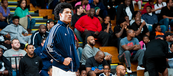 Class of 2015 forward Kaiser Gates of Ga., is one of the most versatile offensive threats nationally. Read what he will bring to Xavier next season. Photo cred - Ty Freeman