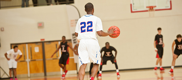 Class of 2016 point guard Aaron Augustin is at the top of the class in the state of Georgia. Read why he is one of the top point guards nationally. Photo cred - Ty Freeman