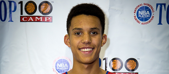 Class of 2016 forward Brendan Bailey proved himself as one of the nation's top forwards. Read about Bailey, who is the son of NBA great Thurl Bailey, here. Photo cred - Jon De Pas/NBPA Camp