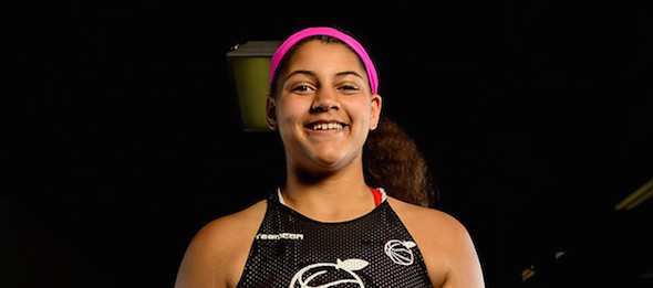 Class of 2019 post Destinee Oberg of Burnsville, Minn., is one of the rising stars in the Elite Basketball Academy pipeline. *Ty Freeman / @typhotog