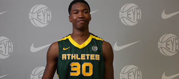 Class of 2016 forward Kristian Doolittle of Edmond, Okla., is staying in state to play for the Sooners. Read about his game here. Photo cred - Jon Lopez/Nike