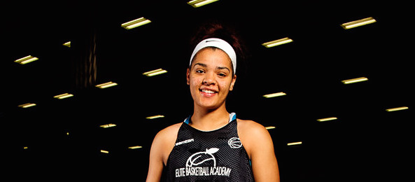 Class of 2016 wing McKenna Lawrence of Evans, Ga., emerged at #EBASuper64 as a must watch prospect in the class. *Ty Freeman / @typhotog