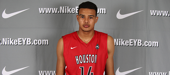 Class of 2017 forward Isiah Jasey of Kileen, Texas, has a world upside. Read where he is at in his development currently. Photo cred - Jon Lopez/Nike