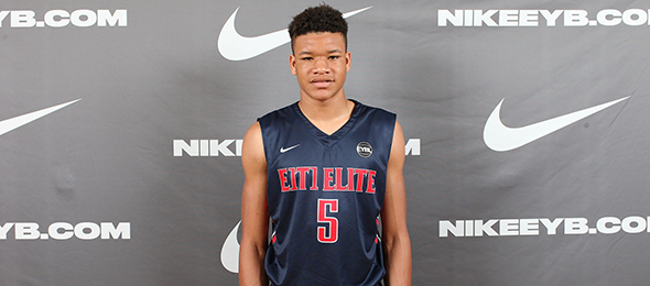 Class of 2017 Kevin Knox of Tampa, Fla., proved he is one of the nation's premier forwards this year. Read about his game on his #BCSReport Player Card. Photo cred - Jon Lopez/Nike