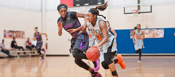 Class of 2017 guard Tierra Wilson of Winston Salem, N.C., helped the Carolina All-Stars get off to the races this year. Read their #PSBFamily Program Review from 2015 here. Photo cred - Ty Freeman/#PSBPreSeason