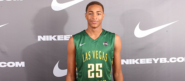 Class of 2017 wing Charles O'Bannon of Las Vegas, Nev., is proving to be one of the best play-makers nationally. His #BCSReport Player Card is here. Photo cred - Jon Lopez/Nike