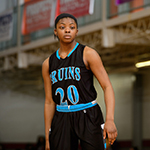 Class of 2017 guard Michaela Porter