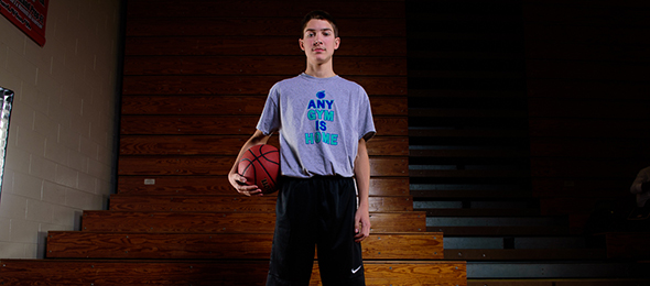 Class of 2020 guard Trey Brock of Pineville, Ky., showed his skills at the Elite Basketball Academy. Read about his future on his #BCSReport Player Card. Photo cred - #EBAAllAmerican