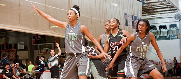 The Atlanta Lady Celtics finished another successful season in 2015. Read their #PSBFamily Program Review. Photo cred - Ty Freeman/#PSBTipOffClassic