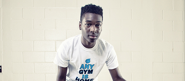Class of 2019 Eric Foster of Loganville, Ga., put himself on the map at the #EBATop40 Camp. Photo camp - Ty Freeman
