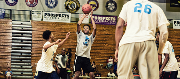 Class of 2018 guard Greg James is an up and coming star the state of Georgia. See why on his #BCSReport Player Card. Photo cred - Ty Freeman/#EBATop40