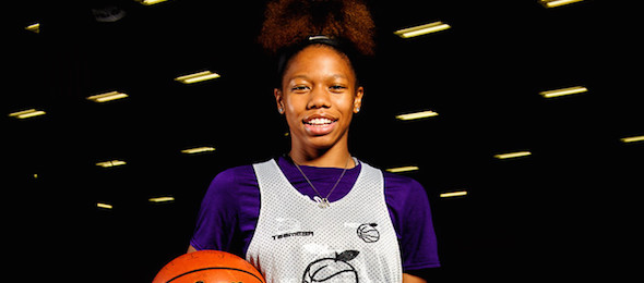 Class of 2016 guard Alecia Sutton of Mo., had her game on display in Tennessee. *Ty Freeman / @typhotog