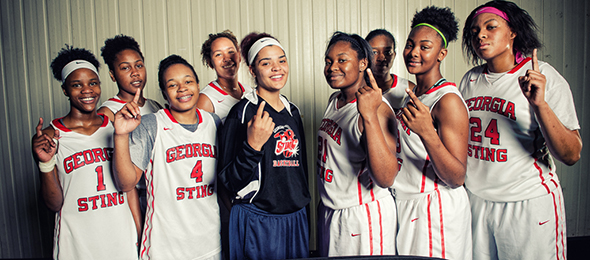The Georgia Sting promote and develop players year after year from the Augusta area and beyond. Photo cred - Ty Freeman/#PSBMayDay