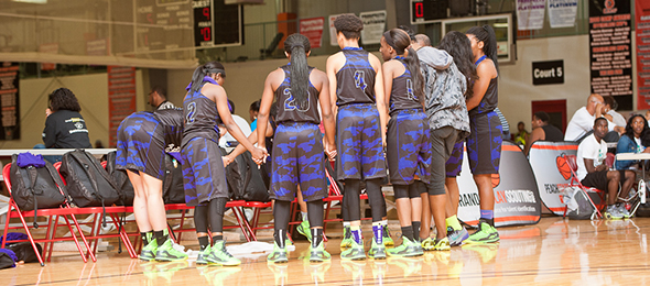 The Georgia Pearls help develop players on and off the court. Read about their program and their players from 2015. Photo cred - Ty Freeman/#PSBMayDay