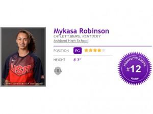 Mykasa Robinson