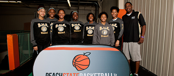 Coach Wesco and the SME program help get kids to the next level year after year. Photo cred - Ty Freeman/#PSBTipOffClassic