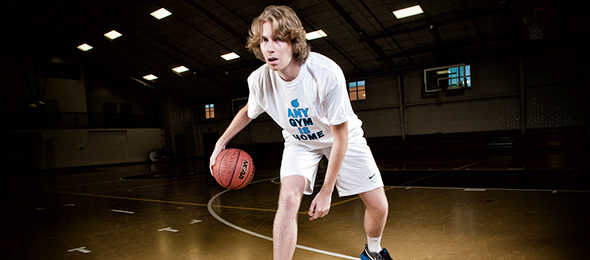 Class of 2016 wing-forward Will Springer of Buford, Ga., is one of the top available shooters in the North Georgia area. Photo cred - Ty Freeman/#EBATop40