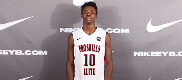 Class of 2016 guard Andrew Jones of Irving, Texas, concluded a productive year with a commitment to Texas. Photo cred - Jon Lopez/Nike