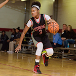 Class of 2018 guard Jazmine Massengill