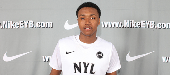 Class of 2016 point guard Shamorie Ponds of Brooklyn, N.Y., is lightning in the back court. See what the future St. John's guard will bring to the college game. Photo cred - Jon Lopez/Nike