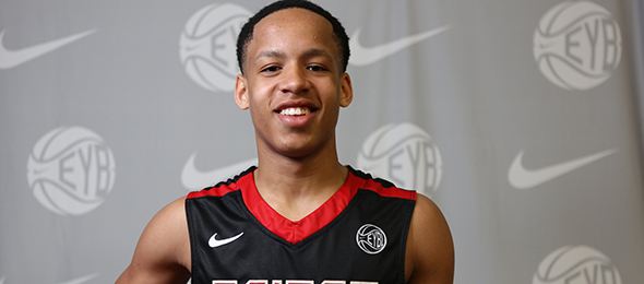 Purdue-bound CJ Walker is a natural floor general. See his #BCSReport Player Card here. Photo cred - Jon Lopez/Nike